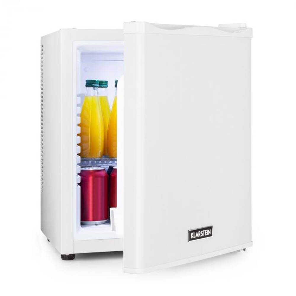 Klarstein Klarstein Happy Hour 25, minibar, 25 l, 5 – 15 °C, energetická trieda B, tichý, 0 dB, LED svetlo, biely