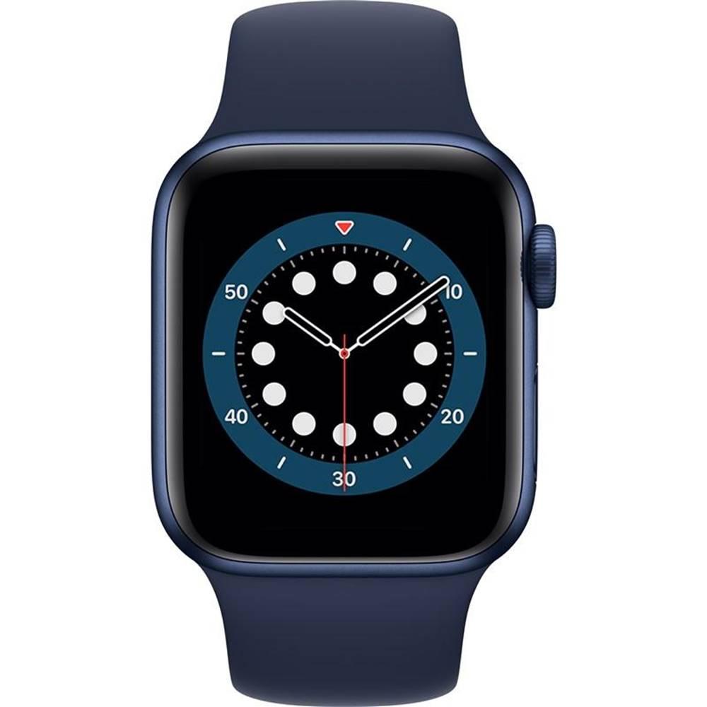Apple Inteligentné hodinky Apple Watch Series 6 GPS 40mm púzdro z modrého