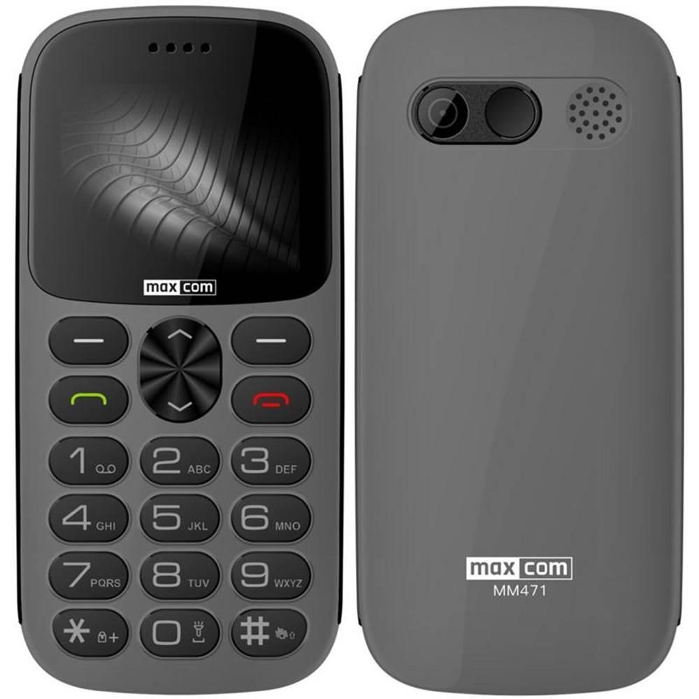 MaxCom Mobilný telefón MaxCom MM471 sivý