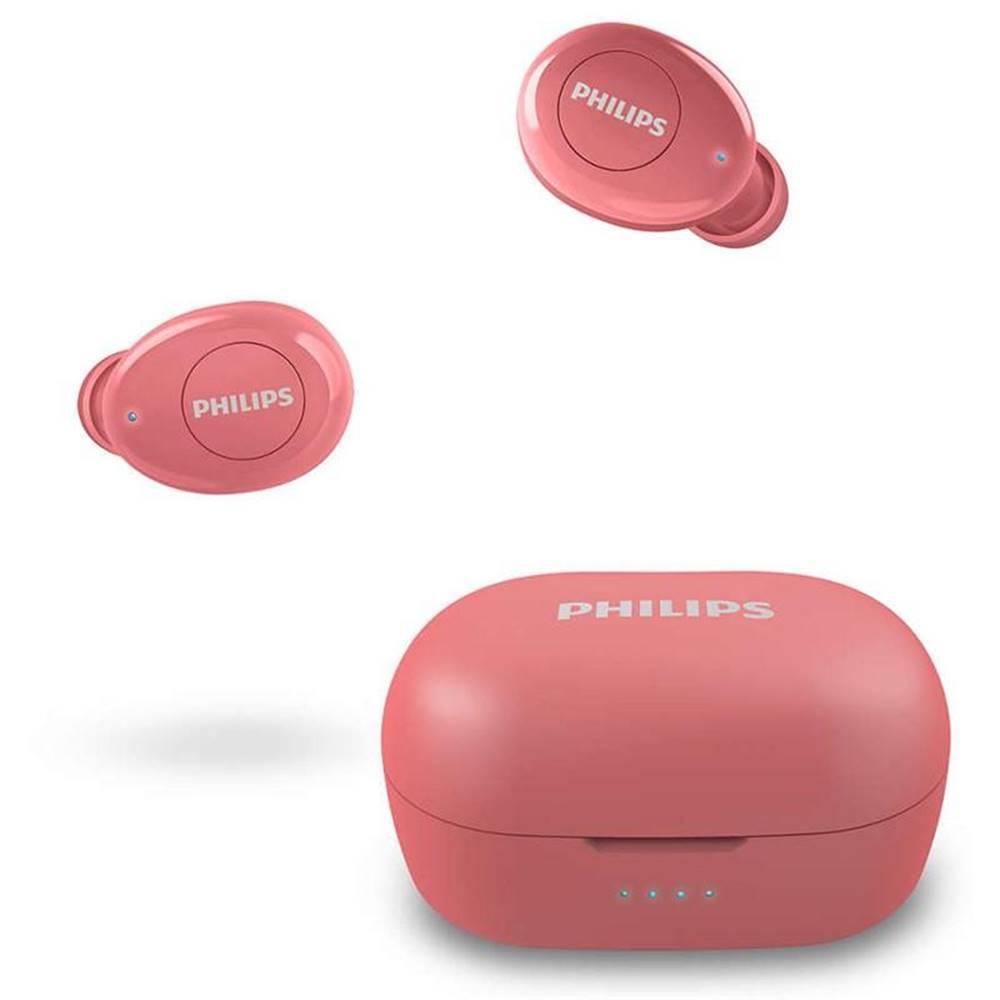 Philips Slúchadlá Philips Tat2205rd červená