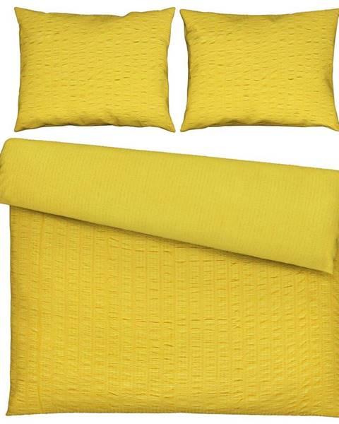 Žltá bielizeň Möbelix