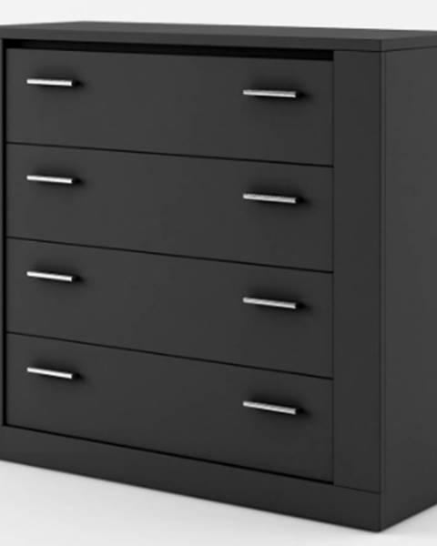 Čierna skriňa Dig-net nábytok