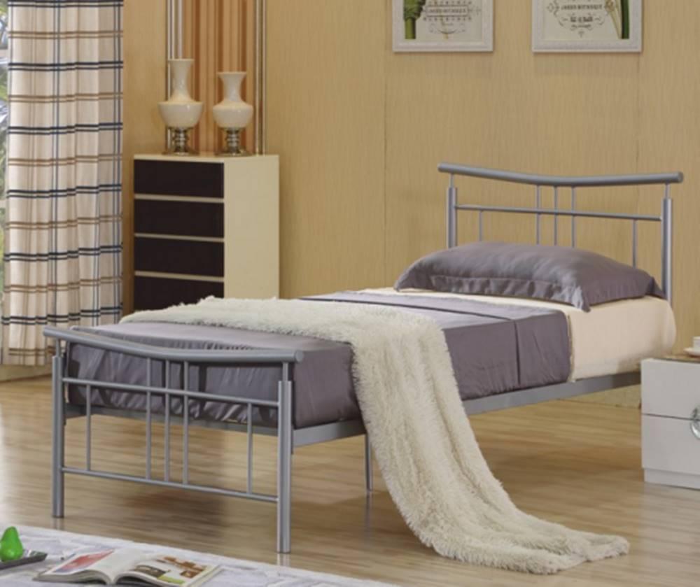 Tempo Kondela Tempo Kondela Jednolôžková kovová posteľ DORADO / 90x200