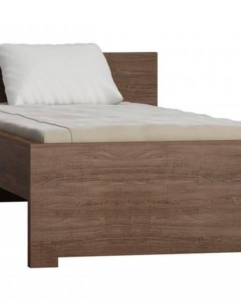 Hnedá posteľ JarStol