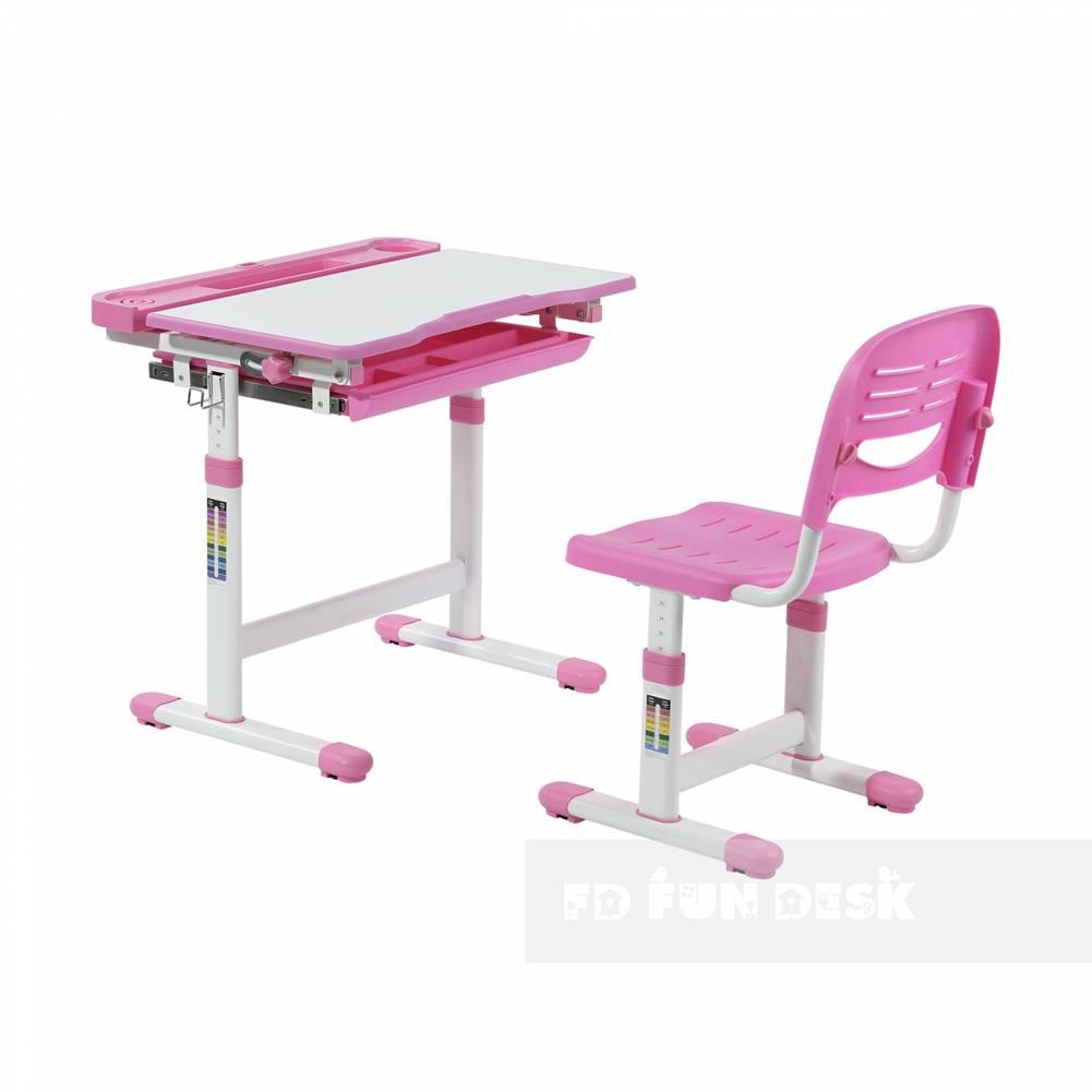 Fundesk Fundesk Rastúci stôl CANTARE + stolička