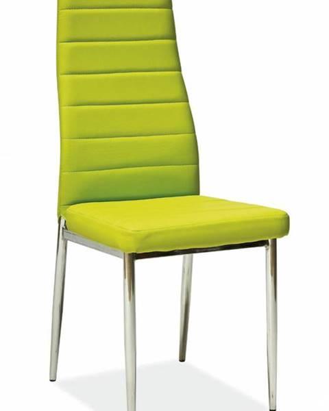 Zelená stolička Signal