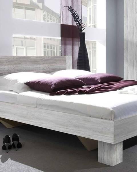 Fialová posteľ ArtElb