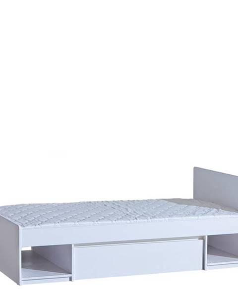 Béžová posteľ Dolmar