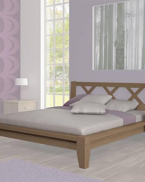 Béžová posteľ ArtBed