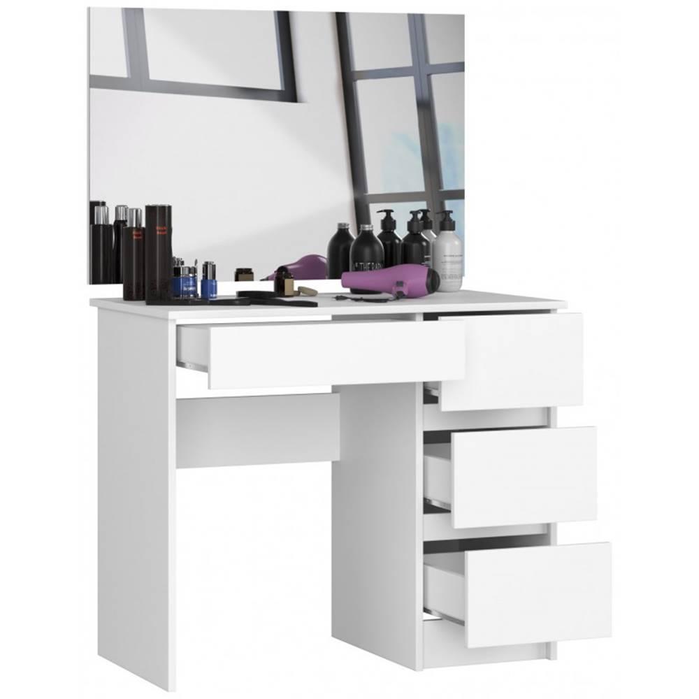 ArtAko ArtAko Toaletný stolík so zrkadlom Clips T-6 90x60 biela