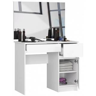 ArtAko Toaletný stolík so zrkadlom Clips P-2 90x60 biela