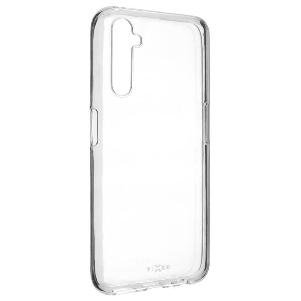 FIXED Kryt na mobil Fixed Skin na Realme 6 Pro priehľadný