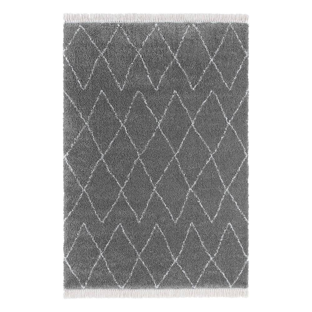 Mint Rugs Sivý koberec Mint Rugs Jade, 80 x 150 cm