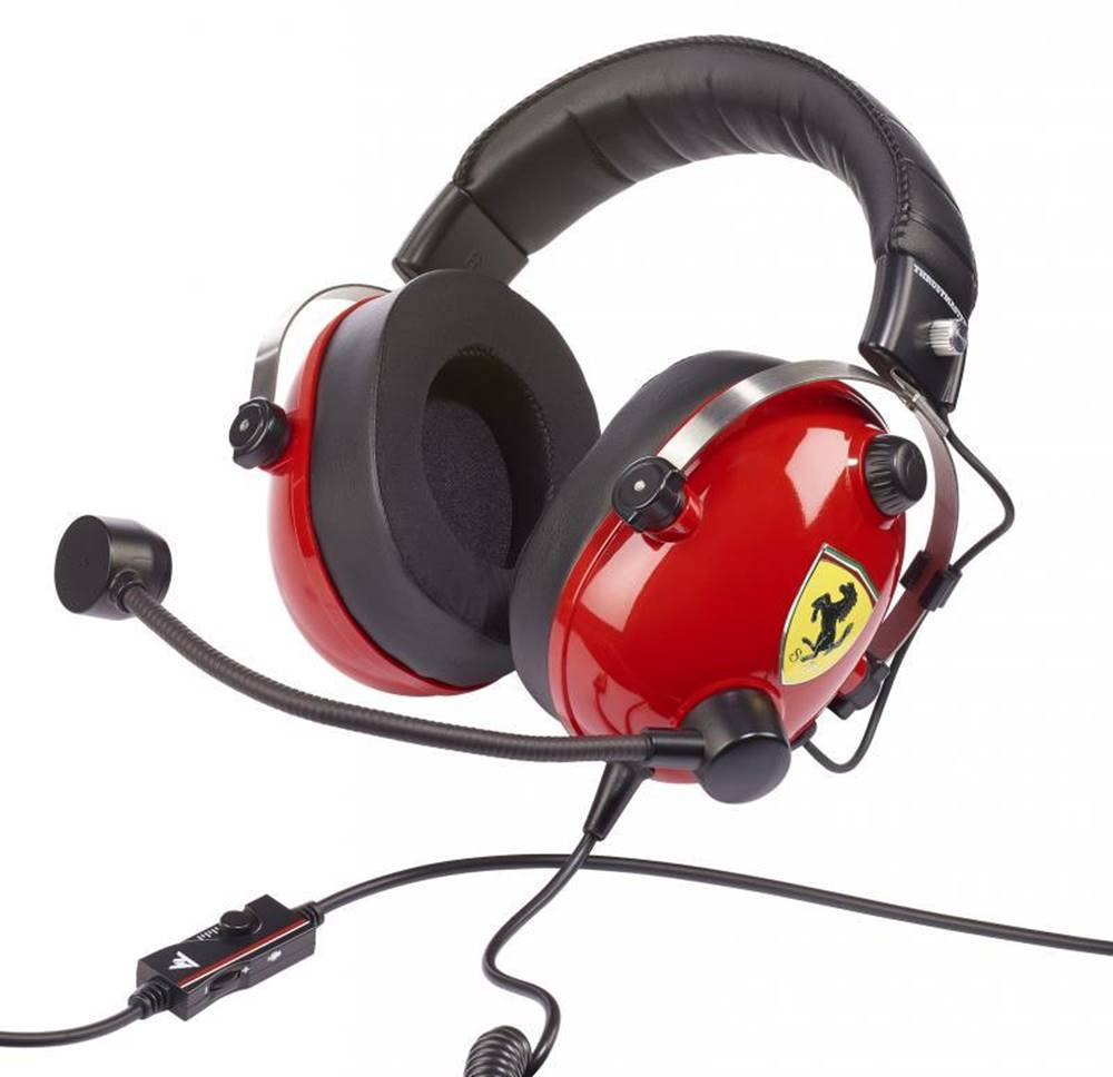 Thrustmaster Headset  Thrustmaster T.Racing Scuderia Ferrari Edition