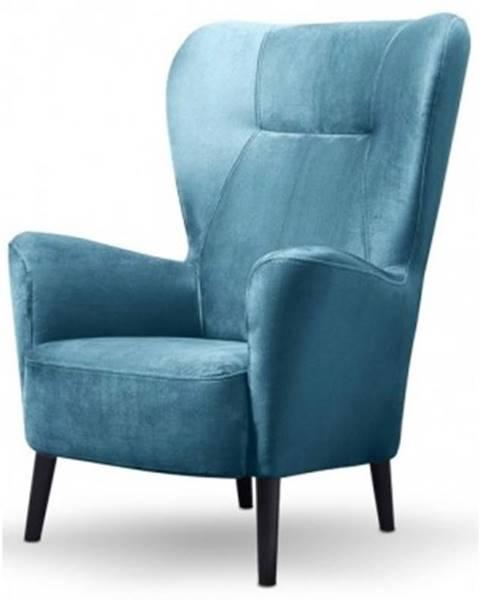 Modrá stolička ASKO - NÁBYTOK