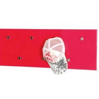 Vešiakový panel Edmond 42490, červený lesk%