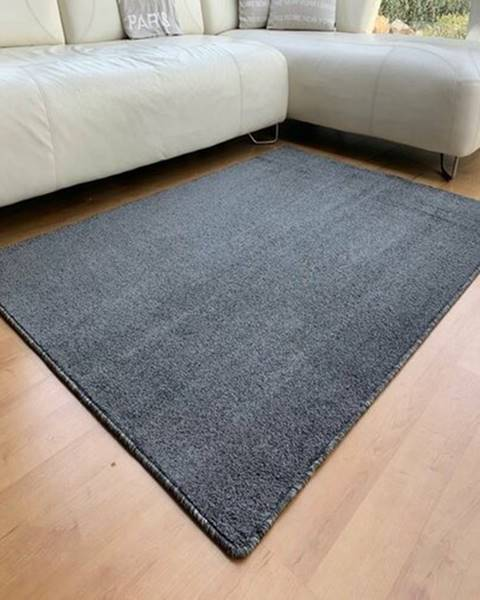 Sivý koberec Sencor