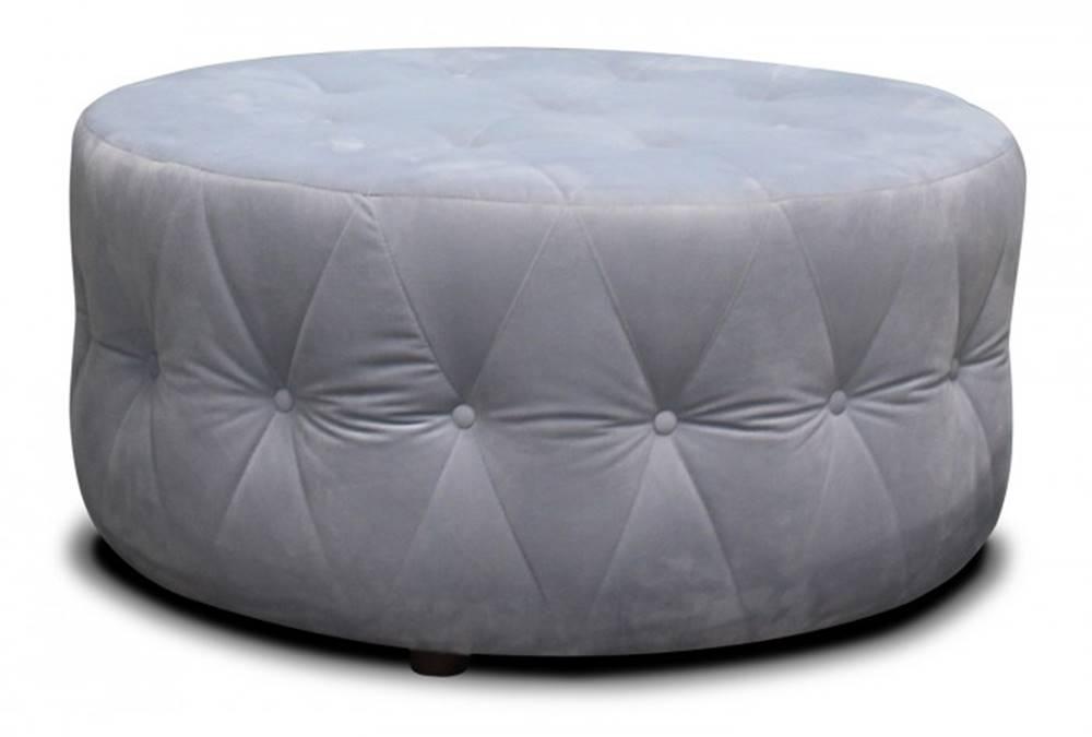 OKAY nábytok Taburet Luxury kruh