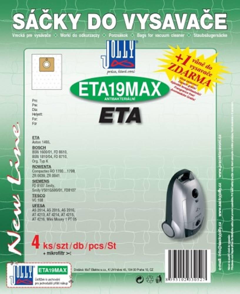Jolly Vrecká do vysávača Eta ETA 19 MAX, 8ks