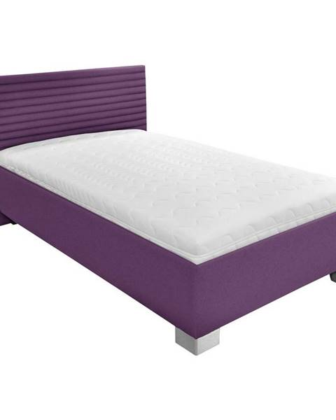 Fialová posteľ Möbelix