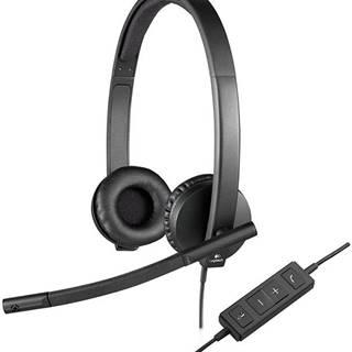 Headset  Logitech H570e čierny