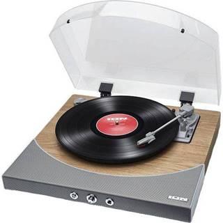 Gramofón ION Premier LP Natural Wood sivý/hned