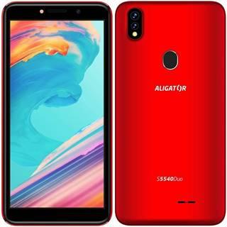 Mobilný telefón Aligator S5540 Dual SIM červený