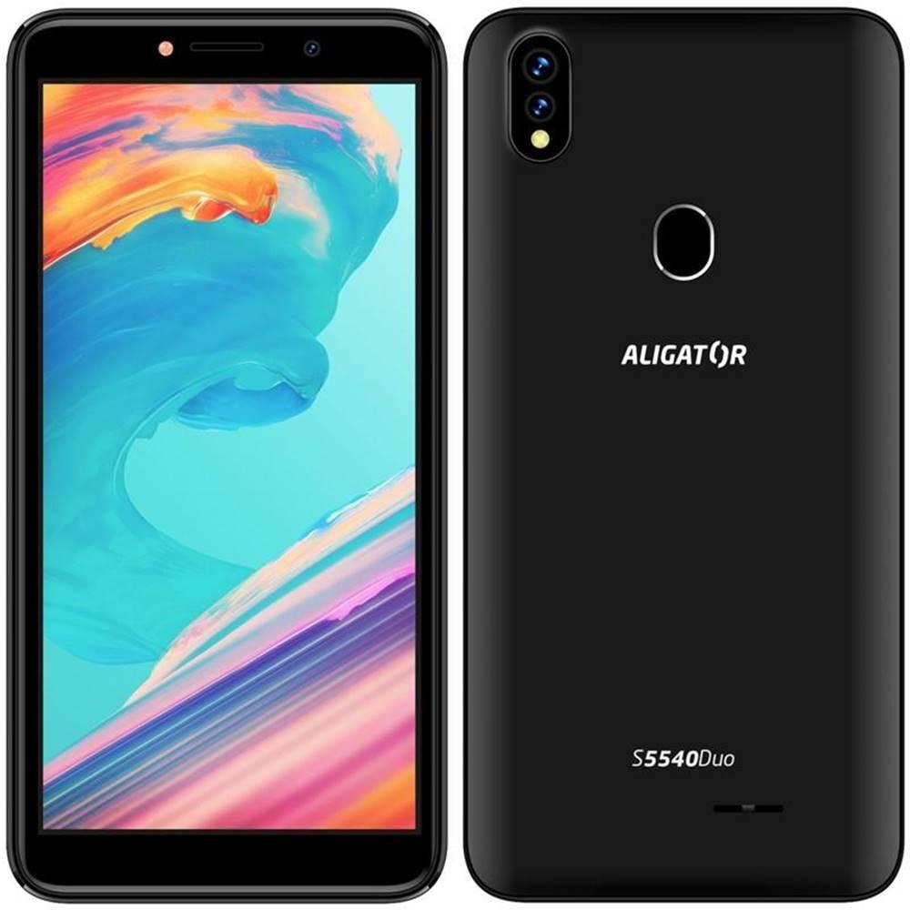Aligator Mobilný telefón Aligator S5540 Dual SIM čierny