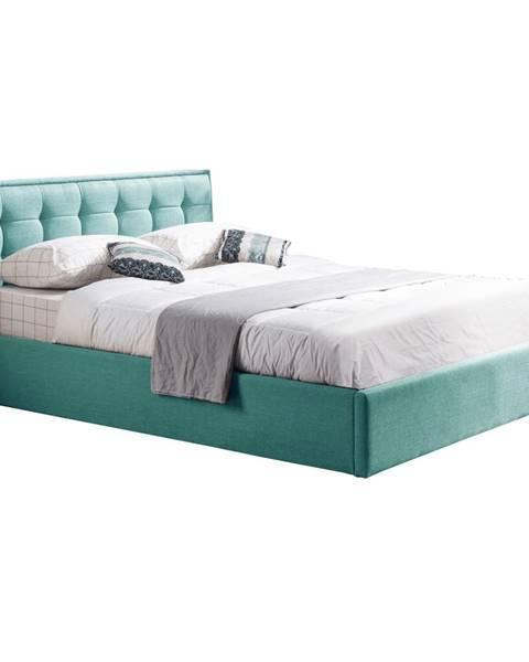 Mentolová posteľ Tempo Kondela