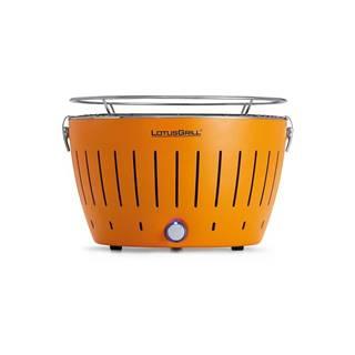 Oranžový nedymiaci gril LotusGrill