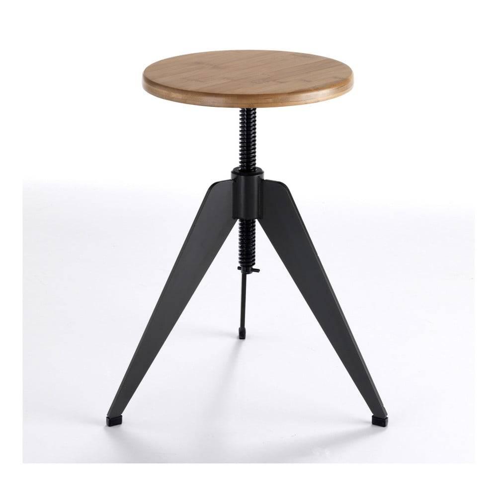 Tomasucci Stolička so sedadlom z dubového dreva Tomasucci Arco
