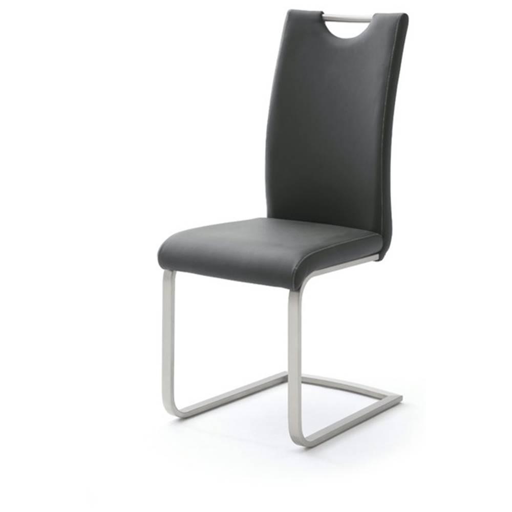 Sconto Jedálenská stolička PIPER čierna