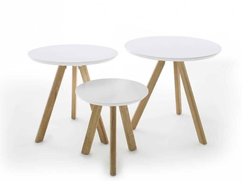 OKAY nábytok Konferenčný stolík Modun - set 3 kusov