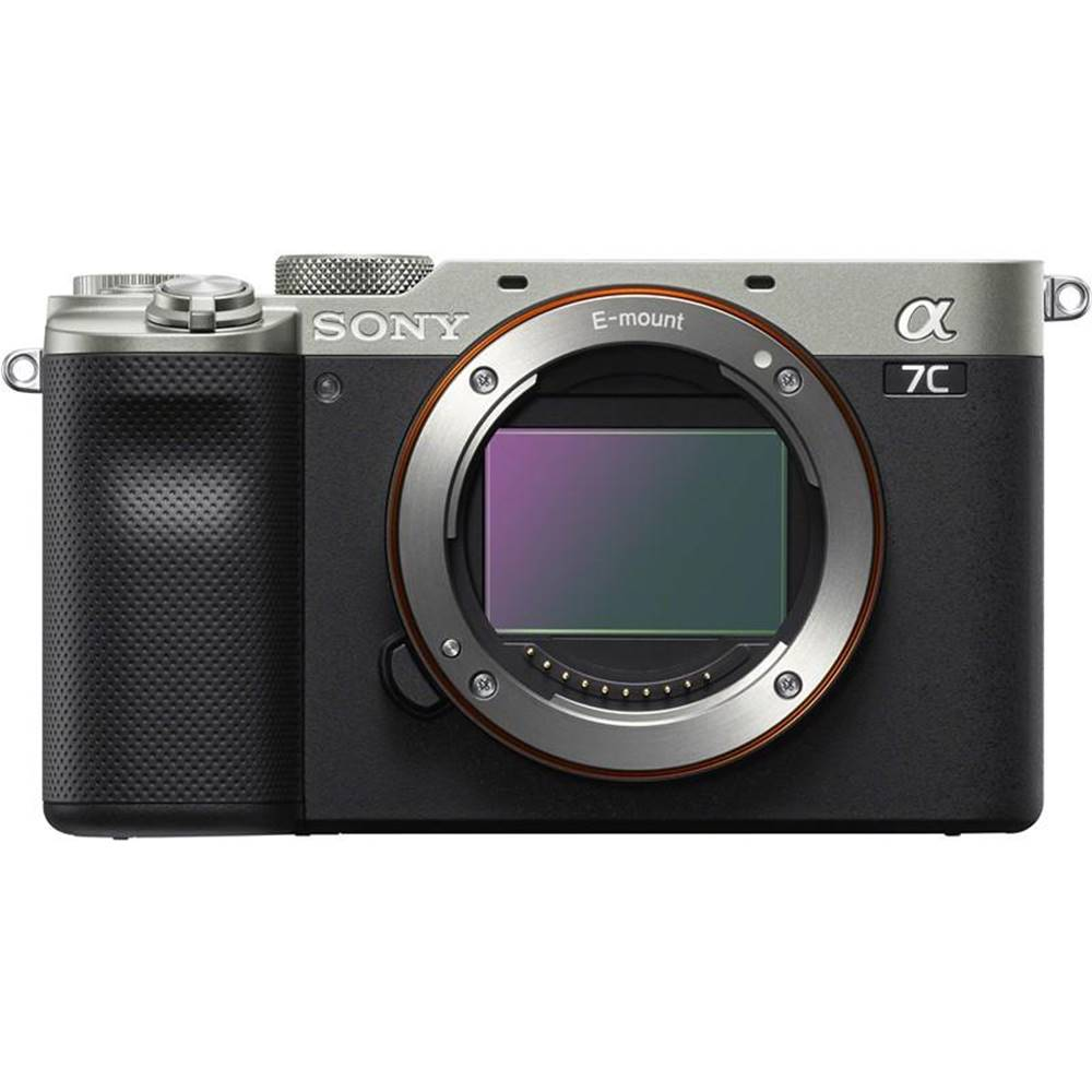 Sony Digitálny fotoaparát Sony Alpha 7C, telo strieborn