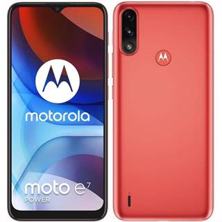 Mobilný telefón Motorola Moto E7 Power červený