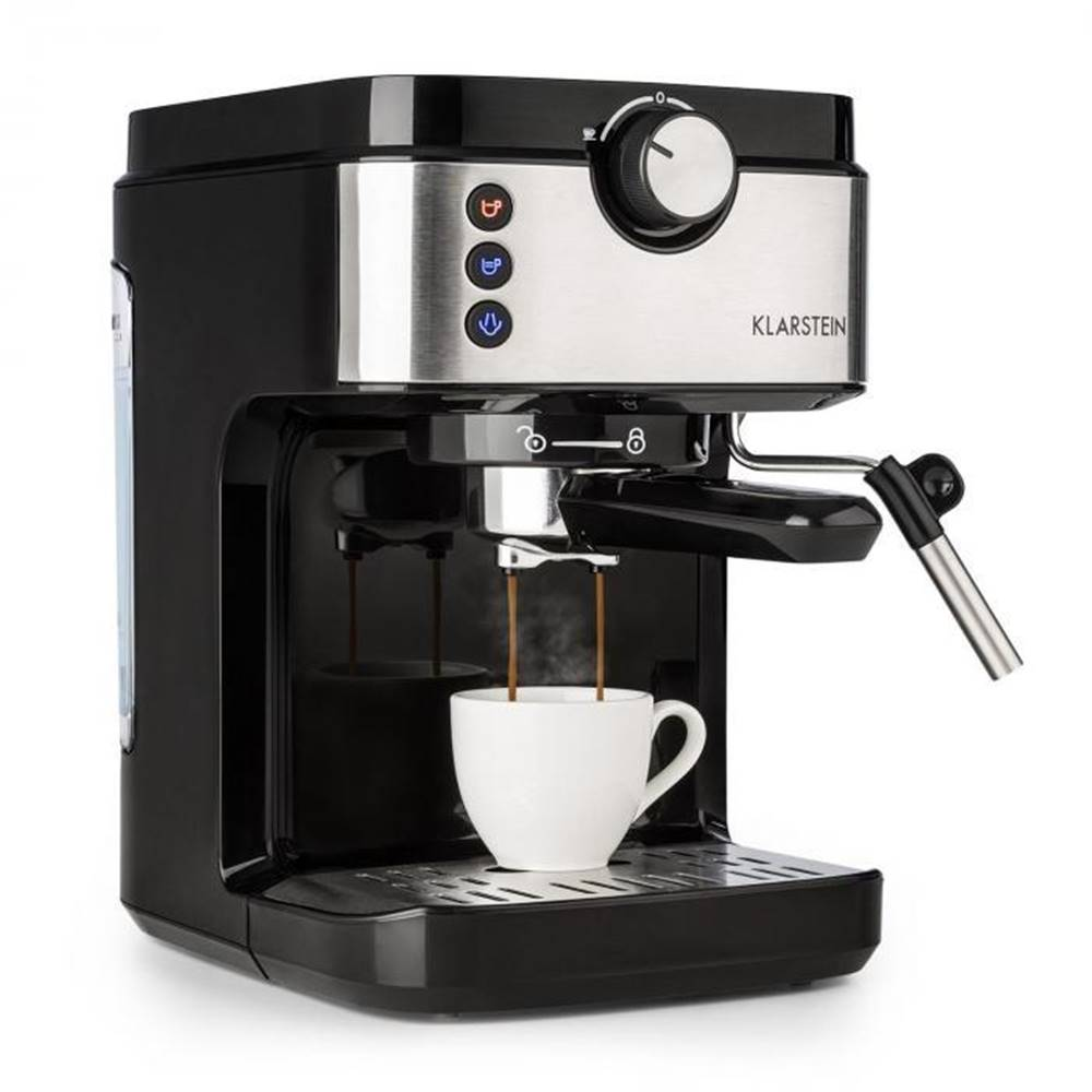 Klarstein Espresso Klarstein BellaVita Espresso strieborn
