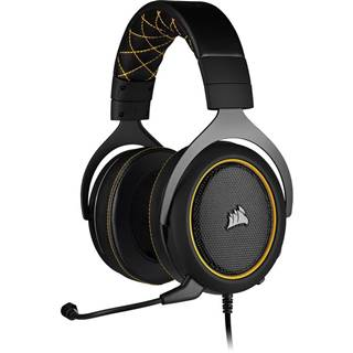 Headset  Corsair HS60 Pro Surround čierny/žltý