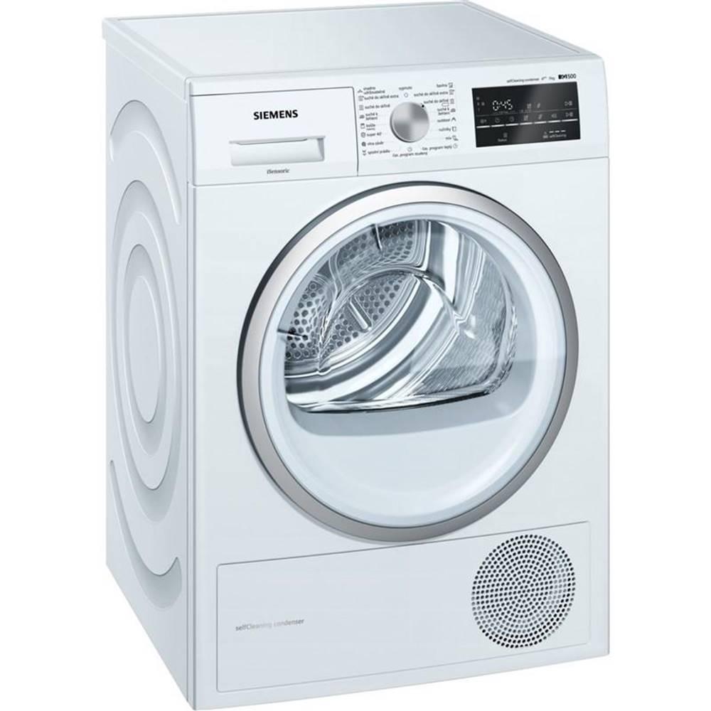 Siemens Sušička bielizne Siemens iQ500 Wt45w461cs biela