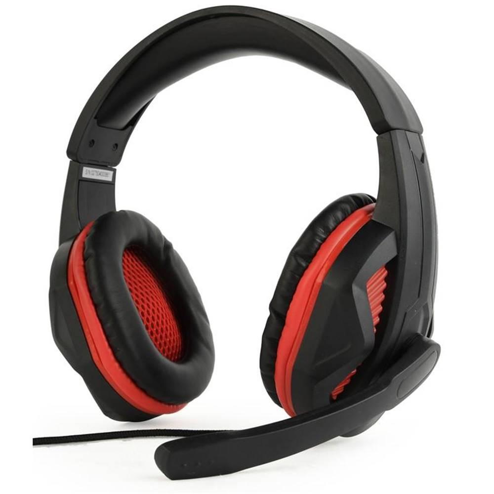 Gembird Headset  Gembird GHS-03 Gaming čierny/červený