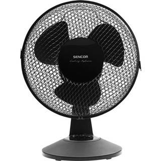 Ventilátor stolový Sencor SFE 2311BK čierny