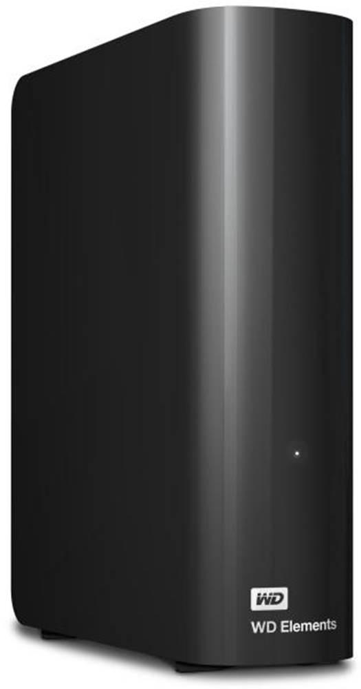 "Western Digital Externý pevný disk 3,5"" Western Digital Elements Desktop 6TB čierny"