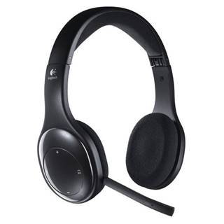 Headset  Logitech Wireless H800 čierny