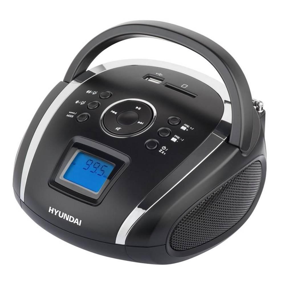 Hyundai Rádioprijímač Hyundai TR 1088 Su3bs čierny/strieborn