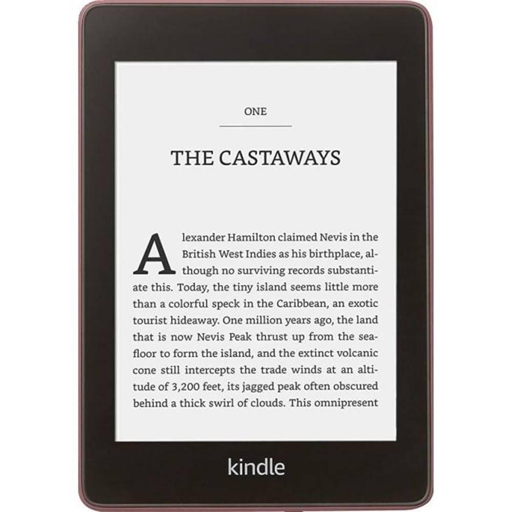 Amazon Čítačka kníh Amazon Kindle Paperwhite 4 2018 s reklamou fialová