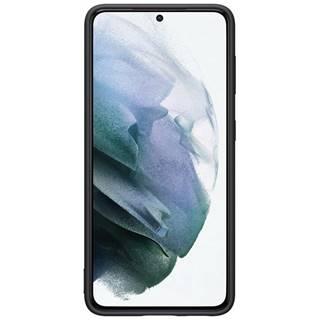 Kryt na mobil Samsung Silicone Cover na Galaxy S21 5G čierny