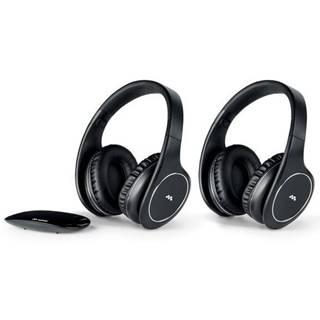 Slúchadlá Meliconi HP Easy Digital Bundle čierna