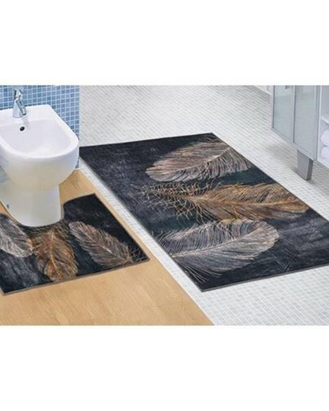 Čierny koberec Bellatex