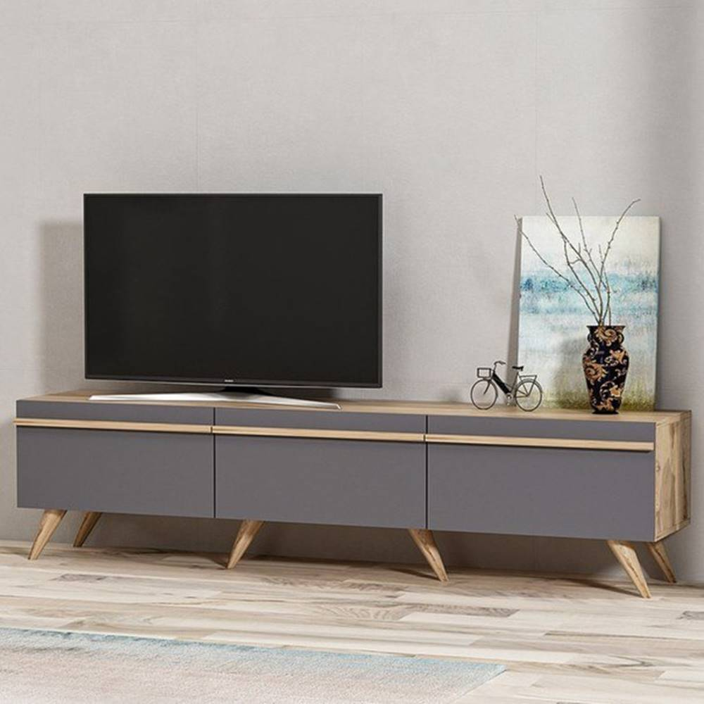 Sconto TV stolík AMSTERDAM antracit