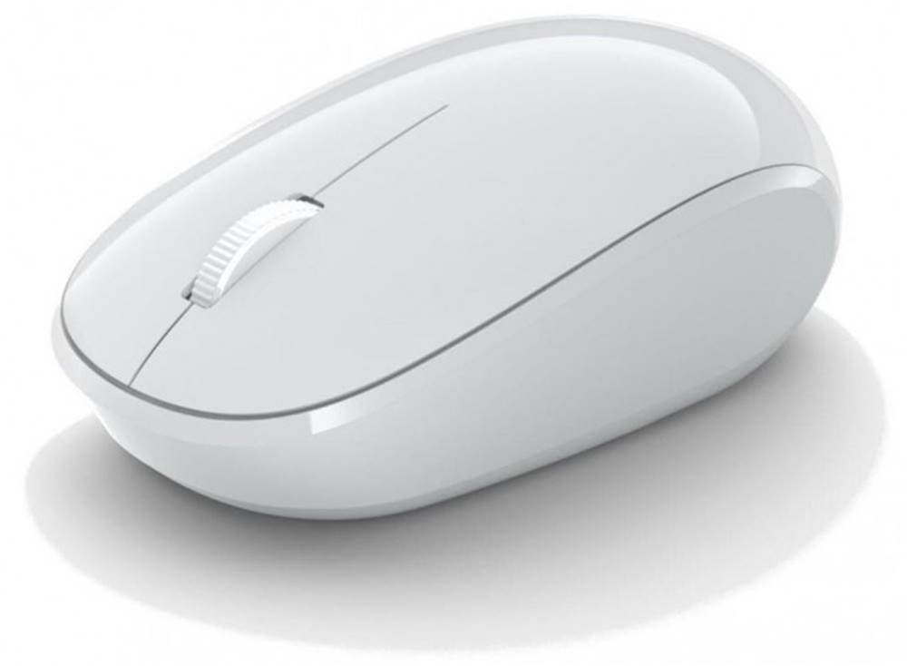 Microsoft Bezdrôtová myš Microsoft Bluetooth Mouse, biela RJN-00066 + Zdarma podložka Olpran
