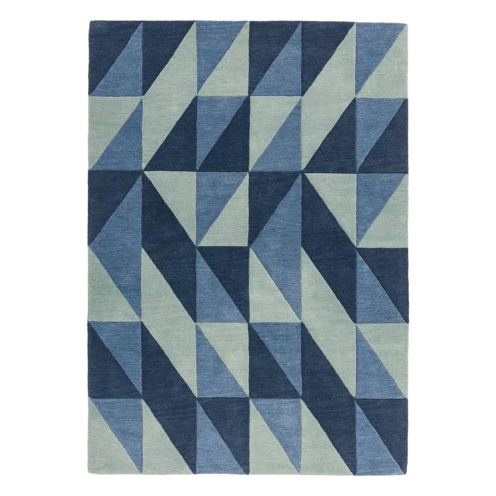 Asiatic Carpets Modrý koberec Asiatic Carpets Flag, 160 x 230 cm